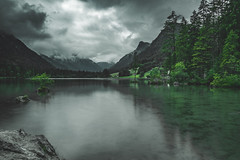 Hintersee Bavaria (alexander_skaletz) Tags: rain clouds tree trees landscape landscapephotography nature photography alps grass water berchtesgaden cloudy sky green relaxation day village germany bayern nikon nikond5300 june summer hintersee