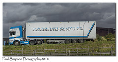 Thackray & Son (Paul Simpson Photography) Tags: haulage transport lorry truck wagon paulsimpsonphotography thackrayandson imagesof imageof photoof photosof sonya77 scunthorpe roadhaulage roadtransport cloudy september 2018 steelworks