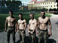 p931rzHfOY1w7bcy7o1_raw (ivostrewiz) Tags: russian army man male shirtless sexy muscle muscular bare chest