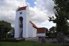 The Village Church of Torrild (BicycleTripPist) Tags: church denmark holy building