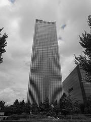 Tulsa (35) (pensivelaw1) Tags: tulsa oklahoma skyscrapers fountains statues mosaic arkansasriver