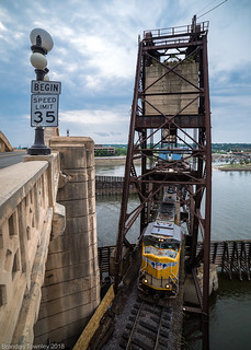 Union Pacific in St. Paul, MN