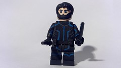 Custom LEGO Young Justice: Nightwing (Caruana Customs) Tags: nightwing young justice season 3 darkwear
