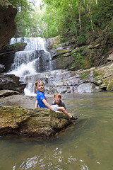 riverwalkbradley (FAIRFIELDFAMILY) Tags: saluda nc north carolina south river little bradley bradly falls rainbow turtle carson jason taylor grant rock water michelle family swim swimming log tree forest father son mother fairfield winnsboro sc polk county flat climb climbing hiking walking child young boy man pretty