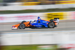 Can he do it? (rikioscamera) Tags: indycar indycardriver longbeach longbeachgrandprix raceteam scottdixon d750 lightroom nikon racedriver racing chipganassiracing openwheelracing