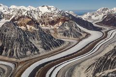 Yentna Glacier, Alaska Range (funtor) Tags: mountain glacier colors usa landscape view alaska denali np nature ice