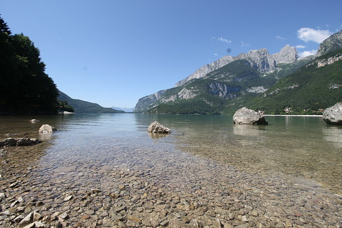 """Molveno Lake • <a style=""""font-size:0.8em;"""" href=""""http://www.flickr.com/photos/104879414@N07/43836148105/"""" target=""""_blank"""">View on Flickr</a>"""
