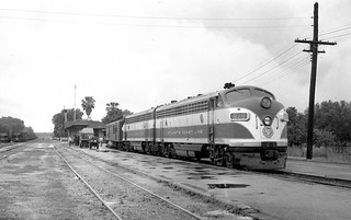 ACL 879 at Trilby in 1953