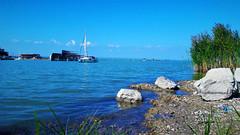 Fertő-tavi képeslap (Mörbisch am See, Ausztria) (milankalman) Tags: lake summer sunshine beach