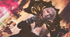 Black Widow (clau.dagger) Tags: drd gothic collar accessories n21 secondlife fashion style tram insol catwa maitreya belleepoque anc eve foxcity bloodcroft halloween decor