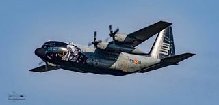 Belgium Air Force C130 Hercules
