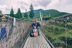Children of Punkha (Fotografía de Sakib) Tags: children punkha bh bhutan suspension bridge