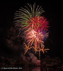 The Big Blast (jimgspokane) Tags: fireworks pyrotechnics the4thofjuly independenceday spokanewashingtonstate spokaneriver today´sbest