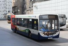 SW 28663 @ Edinburgh bus station (ianjpoole) Tags: stagecoach western scania k230ub alexander dennis enviro 300 sf62ccu 28663 working route 101 edinburgh bus station john street biggar
