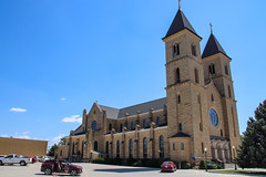 Cathedral on the Plains - St. Fidelis Basilica - Victoria, Kansas (BeerAndLoathing) Tags: religion summer 2017 roadtrip kansas 77d colorado trip canon eclipsetrip august usa victoria unitedstates us cathedral basilica canoneos77d