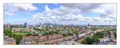 Deptford Panorama, South East London, England. (Joseph O'Malley64) Tags: deptford southeastlondon isleofdogs canarywharf o2arena milleniumdome panorama panoramic incamerastitch london england uk britain british greatbritain urban urbanlandscape