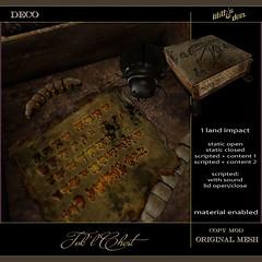 Lilith's Den -  Tok'l Chest (Lilith's Den - Alrunia Ahn) Tags: hunt hplovecraft huntsl secondlife lilithsden lovecraft festival 2018