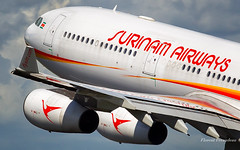 PZ-TCR Surinam Airways Airbus A340-313 msn 242 (Flox Papa) Tags: pztcr surinam airways airbus a340313 msn 242 amsterdam schpol ams eham florent péraudeau flox papa floxpapa canon 1d mark iv 70200 ef70200mm