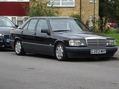 1989 Mercedes Benz 190E Auto (Neil's classics) Tags: vehicle 1989 mercedes benz 190e w201