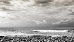 La plage en hiver (gmouret92) Tags: fuji x100t sete cette mer sea plage beach