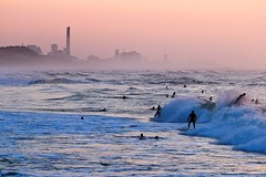 Surfing at sunset - Tel-Aviv beach - Follow me on Instagram:  @lior_leibler22 (Lior. L) Tags: surfingatsunsettelavivbeach surfing sunset telaviv beach telavivbeach wave sea seascapes