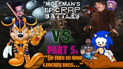 Moleman's Epic Rap Battles #43-E: Mickey Mouse Vs. Ken Penders (Moleman9000) Tags: molemanninethousand moleman merb epic rap battle battles history fanfiction crossover erb erboh rapbattle sonic hedgehog sega sally acorn satam archie comics starwars star wars luke skywalker universe legends literature mobius moleman9000 jedi force mobian furry script expanded disney mickey mouse satire thanos infinitygauntlet ken penders jj abrams ian flynn megaman idw suicide tragedy parody comedy lyrics larasu sonichu knuckles julie juliesu echidna corporate ownership homage lawsuit chronicles youtube musical saga video text