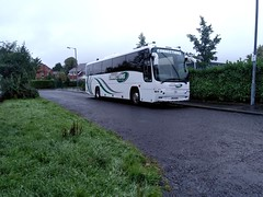 Coach Connections ANZ 5555 (Phill_129) Tags: volvo b10m plaxton coach bus anz 5555 70seater coachconnections ireland anz5555 connections johnson brothers bros johnsonbros yr52mev yr52 mev