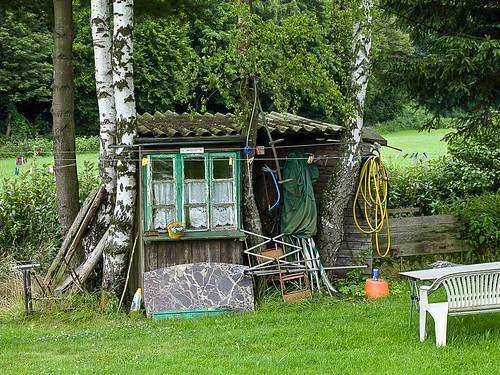 Hütte am Teich - Hut on the pond