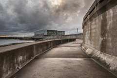 Nuclear Industrial (Simon Wootton) Tags: power concrete nuclear powerstation industrial rain storm bleak dark clouds cold stark lonely alone quiet