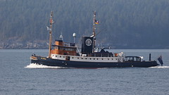 St Eval (Paul den Ouden) Tags: steval tugboat yacht powellriver malaspinastrait