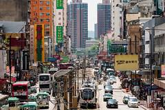 850_0783 (PC_Bridges) Tags: buses cars hongkong lightrail people streets yuenlong