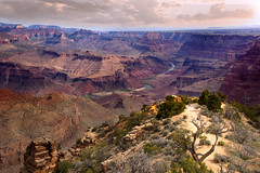Morning in the Grand (Lytographer) Tags: morning grandcanyon softlight clouds