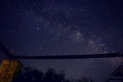 Look at the sky... (philos from Athens) Tags: milkyway sky cyclades greece summer blog picmonkey