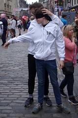 Head Turning (MalB) Tags: achillesheel edinburgh fringe festival scotland pentax k5 royalmile