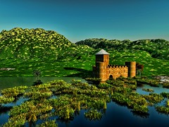 Fortress at the water (driver Photographer) Tags: 3d