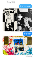 Dare (sjpowermac) Tags: dare festival warszawacentralna cuder ep09038 gorillaz poster pkp intercity open'er textspeech screenshot text message delivered today 1952