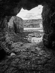 Mermaid Hole (sablott) Tags: uk unitedkingdom england yorkshire eastyorkshire flamborough coast sea water cave