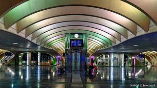 Liège. Belgium: Liège-Guillemins railway station