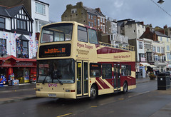 882. X588 EGK: East Yorkshire (chucklebuster) Tags: x588egk east yorkshire london central volvo b7tl president scarborough district plaxton opentopper