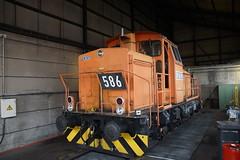RBH 586 in depot van Proper 2 Bottrop 08-09-2018 (marcelwijers) Tags: rbh 586 depot van proper 2 bottrop 08092018 kraussmaffei 19733 1975 m 700 c cdh 1435 mm