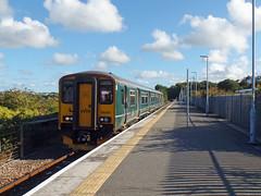 150202 Newquay (6) (Marky7890) Tags: gwr 150202 class150 sprinter 2n08 newquay railway cornwall atlanticcoastline train