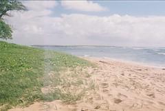 000010 (nautical2k) Tags: malaekahanastaterecreationarea malaekahana state recreation area hawaii oahu pentaxme fujisuperiaxtra400 film 35mm