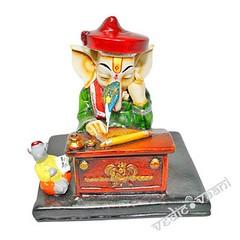 Ganesha writing scriptures | From Vedic Vaani™ (vedicvaani.com) Tags: home decor desktop showpiece items hindu deity sculpture god sculptors idols idol idle ganesh writing scripture lord ganesha wrote ganpati gajanan moreshwar vighanharta vighaneshwar ganpathy om pooja puja vedic vaani voice of vedas statue ideal