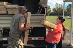Virginia National Guard (The National Guard) Tags: virginia va vang water supplies shelter deliver south carolina sc hurricane florence response respond hurricaneflorence tropical storm flooding floods ng nationalguard national guard guardsman guardsmen soldier soldiers airmen airman us army air force united states america usa military troops 2018