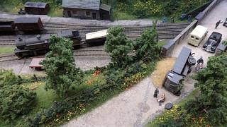 Road Accident on the Railway Bridge.