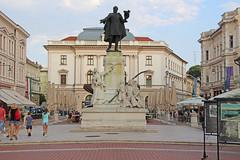Szeged - Kossuth Lajos szobor