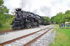 Steam n the Valleyn 057 (Fan-T) Tags: nkp 765 nickel plate road berkshire steam engine 284 lima 1944 penisula ohio cvsr