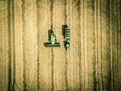 Complete (bill.d) Tags: dji djimavicpro kalamazoocounty michigan schoolcraft unitedstates aerialphotography drone farm farming field flying outdoor overcast rural ruralmichigan summer tractor us
