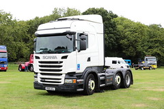 Scania R450 PO15UOJ Paddock Wood Truckfest 2018 (davidseall) Tags: scania vabis r450 po15uoj po15 uoj truck lorry tractor unit artic large heavy goods vehicle lgv hgv paddock wood truckfest show 2018