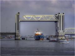Botlekbrug (Luc V. de Zeeuw) Tags: botlekbrug bridge open oudemaas ship spijkenisse zuidholland netherlands